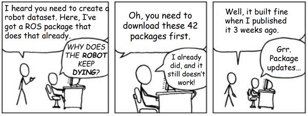 ROS Development Comic (ROSCON 2015)
