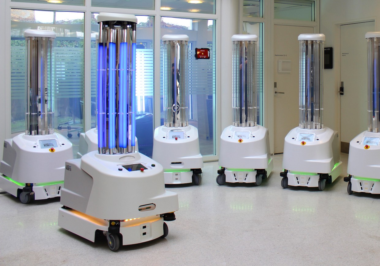 UVD Sanitation Robot