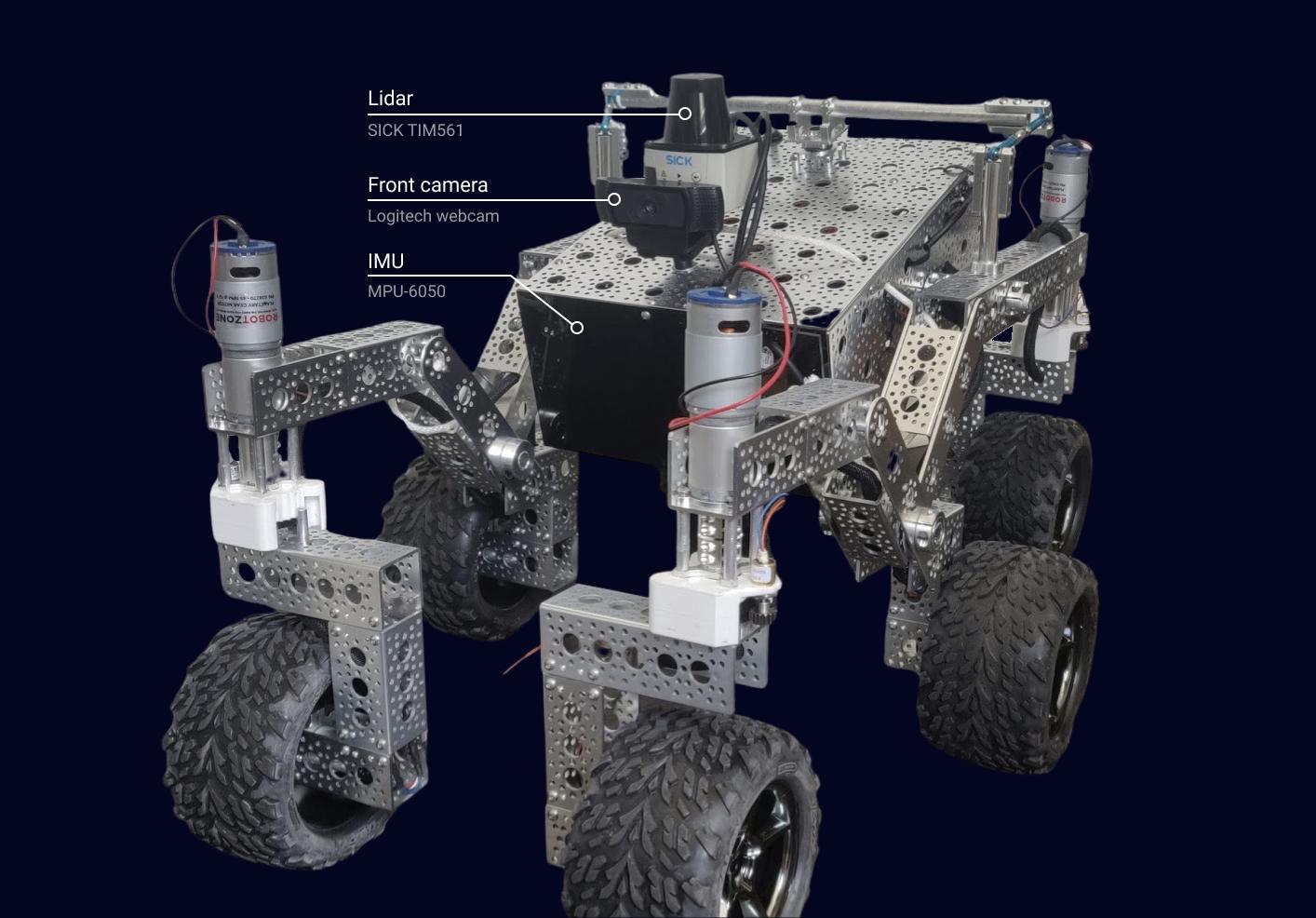 NASA-JPL Open Source Mars Rover